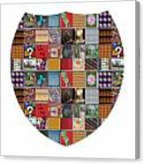 Shield Armour Yin Yang Showcasing Navinjoshi Gallery Art Icons Buy Faa Products Or Download For Self Canvas Print