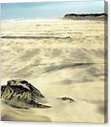Shifting Sands On Ocracoke Outer Banks Canvas Print