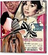 Shih Tzu Art - My Fair Lady Movie Poster Canvas Print