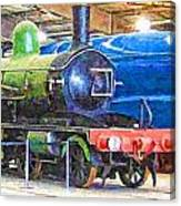 Shildon Railway Museum In England Canvas Print