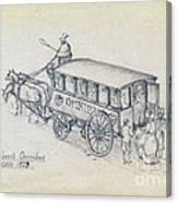 Shillibeers Omnibus Canvas Print