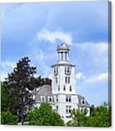 Shiloh Chapel Durham Maine Canvas Print