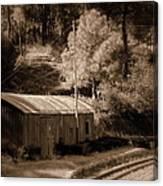 Shimla Rail Road Canvas Print