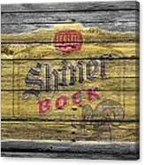 Shiner Bock Canvas Print