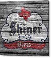 Shiner Specialty Canvas Print