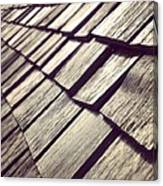 Shingles Canvas Print