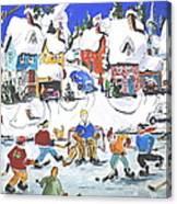 Shinney Canvas Print