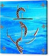 Ship Anchor Canvas Print