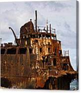 Ship Ashore Canvas Print