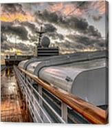 Ship Deck Canvas Print