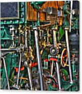 Ship Engine Canvas Print