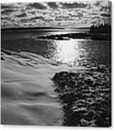 Ship Harbor Winter Canvas Print