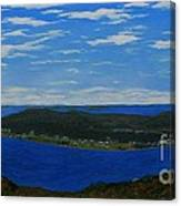 Ship Harbour From Sugarloaf Hill Canvas Print