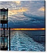 Ship Lamps Canvas Print