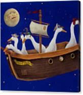 Ship Of Fools... Canvas Print