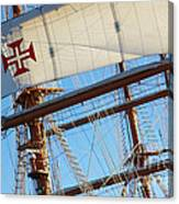 Ship Rigging Canvas Print