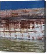 Ship Rust 4 Canvas Print