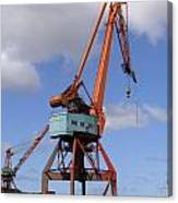 Shipping Industry Crane 06 Canvas Print