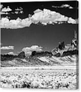 90272 Shiprock Dyke Long View Canvas Print