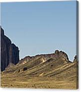 Shiprock Panorama - North West New Mexico Canvas Print