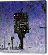 Ships In The Night IIi Canvas Print