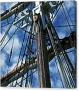 Ships Rigging Canvas Print