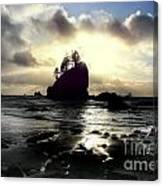 Shipwreck Rock Canvas Print