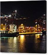 Shipyards 2 Callao Port Lima Peru Canvas Print