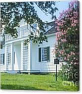 Shirley House Canvas Print