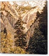 Shirley Temple Mine Canvas Print
