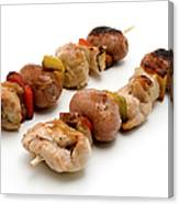 Shish Kebab Canvas Print
