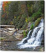 Shoal Creek Area Waterfalls Canvas Print