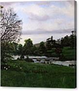 Shobrooke Park  Crediton  Devon Canvas Print