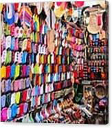 Shoe Souk Canvas Print