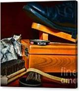 Shoe - Time For A Shine Canvas Print
