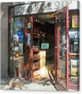 Shopfronts - Smoke Shop Canvas Print