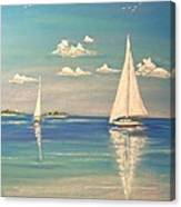 The Cays Canvas Print