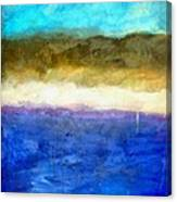 Shoreline Abstract Canvas Print