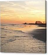 Shoreline Nj Canvas Print