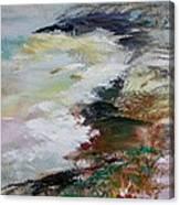 Shores Of Half Moon Bay Canvas Print