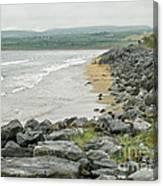 Shores Of Ireland Canvas Print
