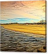 Shores Of Lake Michigan Canvas Print