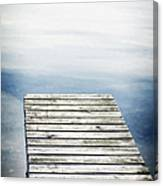 Short Pier Canvas Print