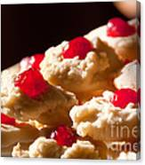 Shortbread Cookies Canvas Print