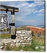 Shoshone National Forest Canvas Print