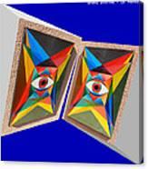 Shots Shifted - Le Monde 3 Canvas Print