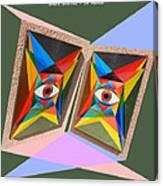 Shots Shifted - Le Monde 4 Canvas Print