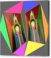 Shots Shifted - Le Pat 7 Canvas Print