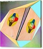 Shots Shifted - Le Soleil 3 Canvas Print
