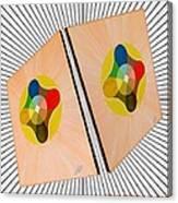 Shots Shifted - Le Soleil 4 Canvas Print